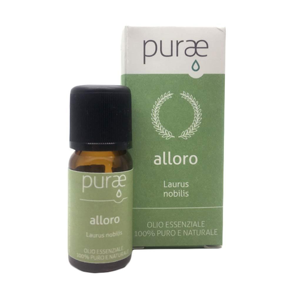 Purae Olio Essenziale Alloro foglie e rametti 100% Puro e Naturale, 10ml