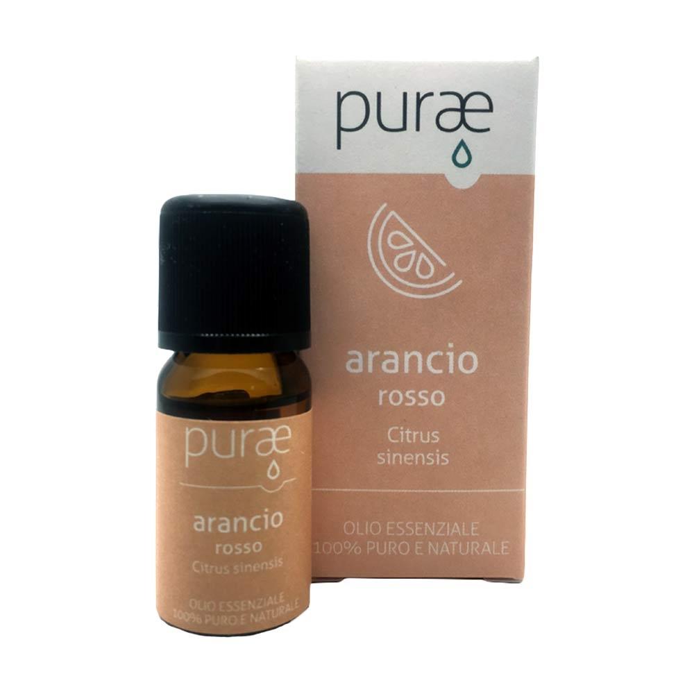 Purae Olio Essenziale Arancio rosso buccia 100% Puro e Naturale, 10ml