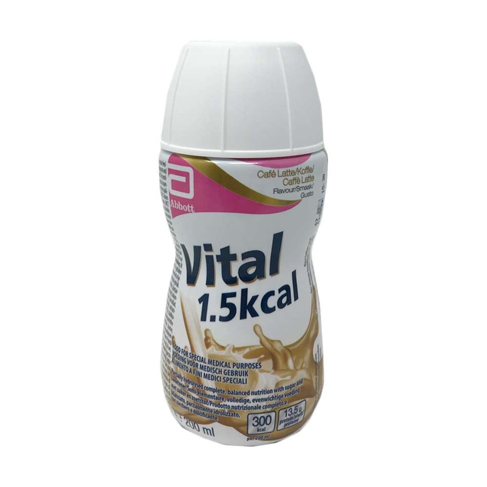 Abbott Vital 1,5kcal Gusto Caffè Latte Bevanda In Caso Di Malassorbimento, 200ml
