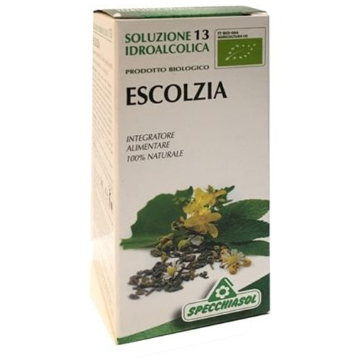 Specchiasol Soluzione Idroalcolica 13 Escolzia Papavero Giallo California 50 ml