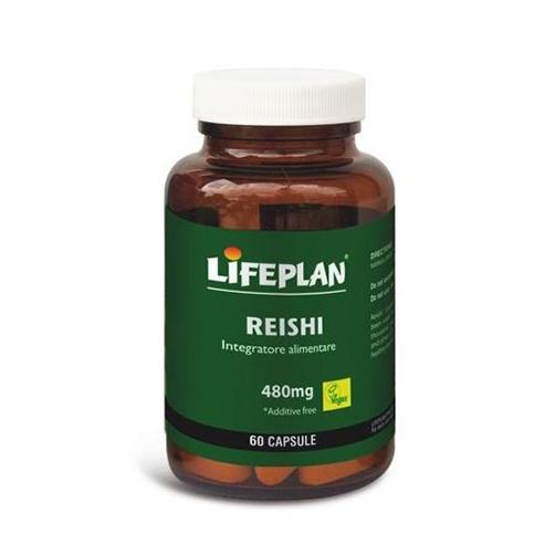 Lifeplan Reishi 480 mg Integratore Alimentare 60 Capsule