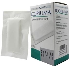 Icopiuma Garza Compressa Sterile In Tessuto Non Tessuto 36x40 cm 12 Pezzi offerta