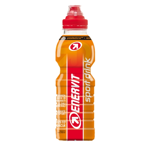 Enervit Sport Drink Bevanda Di Carboidrati E Sali Minerali Gusto Arancia, 500ml