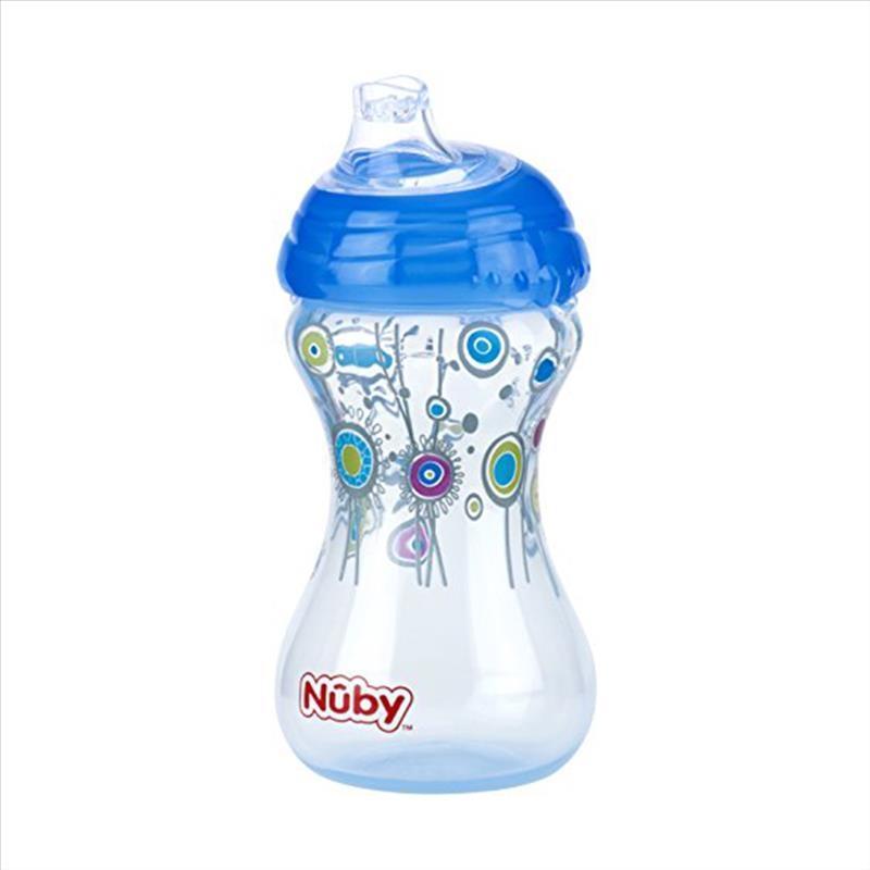 Nuby Flip It No Spill Designer Tazza Con Cannuccia 300 ml 12m+ 1 Pezzo
