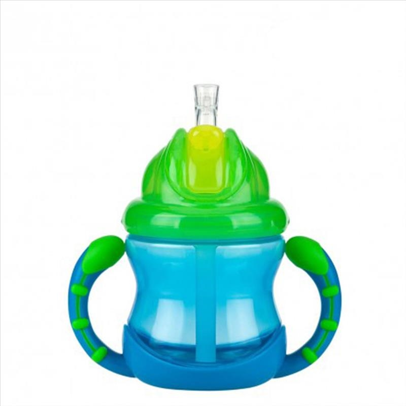 Nuby Flip It No Spill Antigoccia Con Manici 240 ml 12 Mesi + 1 Pezzo offerta