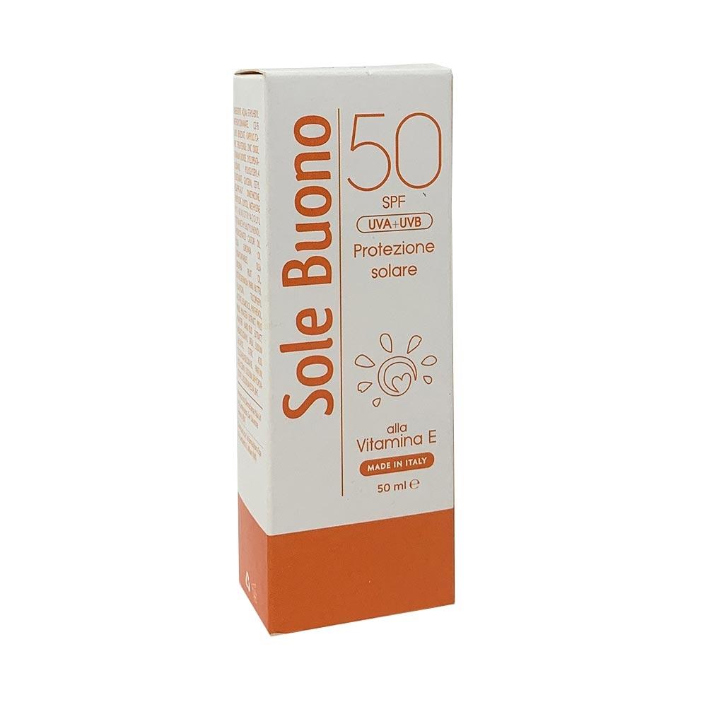 Sole Buono Protezione Solare SPF 50 UVA + UVB 50 ml