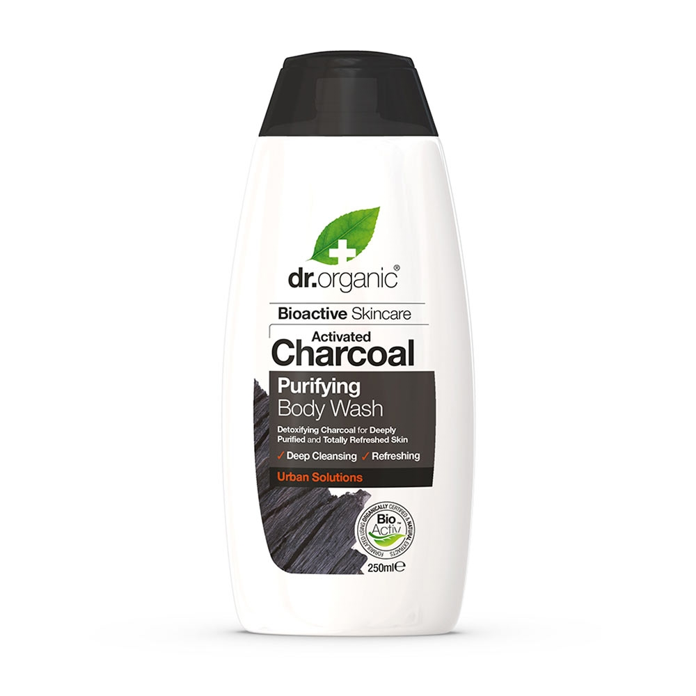 Dr. Organic Activated Charcoal Purifyng Body Wash, 250ml
