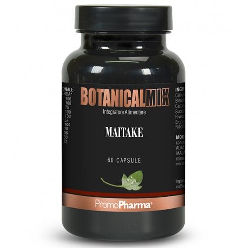 PromoPharma Botanical Mix Maitake Integratore Alimentare 60 Capsule