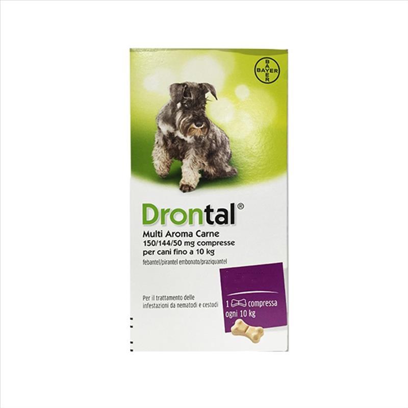 Bayer Drontal Trattamento Delle Infestazioni Nei Cani 6 Compresse offerta