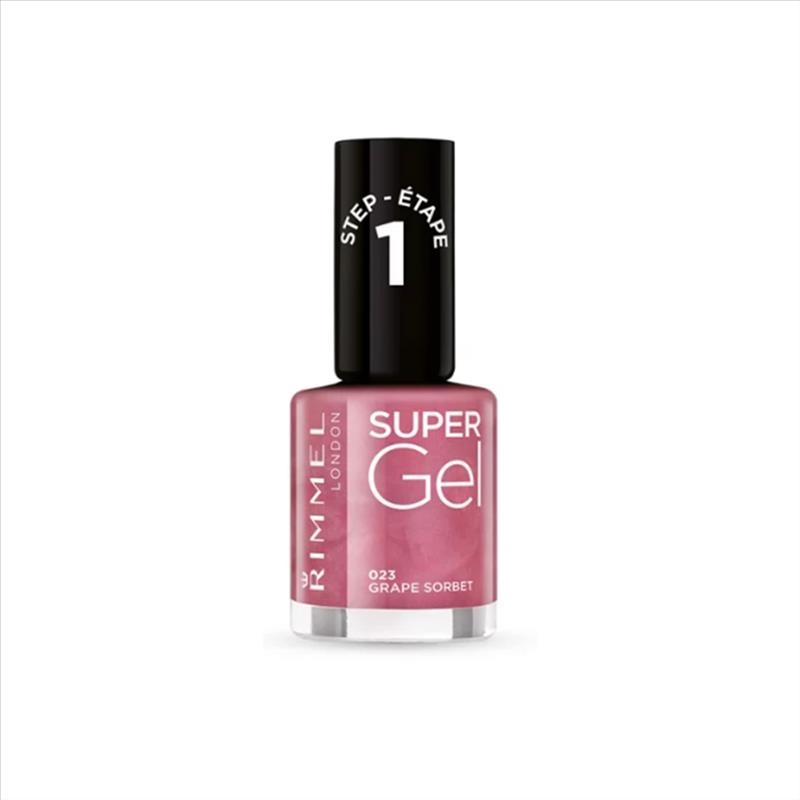 Rimmel Smalto Super Gel Colore 023 Grape Sorbet 12 ml