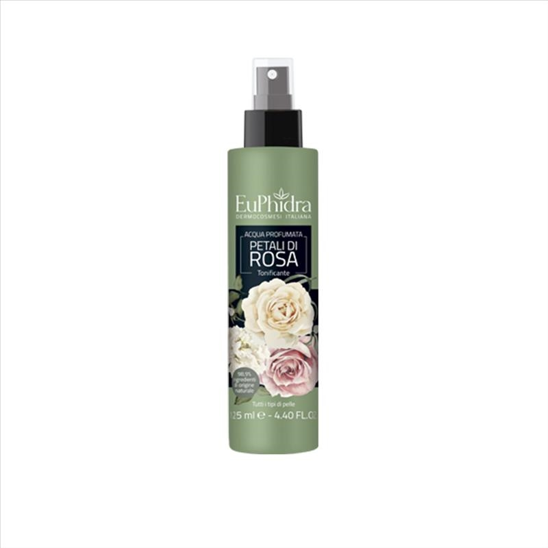 EuPhidra Acqua Profumata Tonificante Spray Fragranza Petali Di Rosa 125 ml