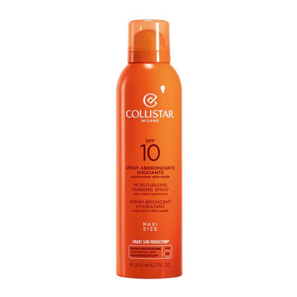 Collistar Solari Viso E Corpo Spray Abbronzante Idratante Spf10 200 ml