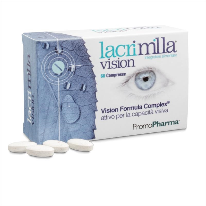 PromoPharma Lacrimilla Vision Integratore Capacita