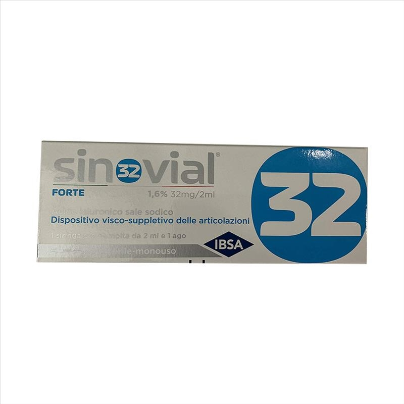 IBSA Sinovial Forte Siringa 1,6% 32 mg/2 ml 1 Pezzo