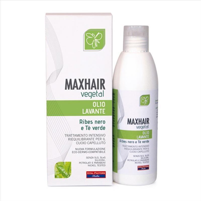 Vital Factors MaxHair Vegetal Olio Lavante Capelli 200 ml