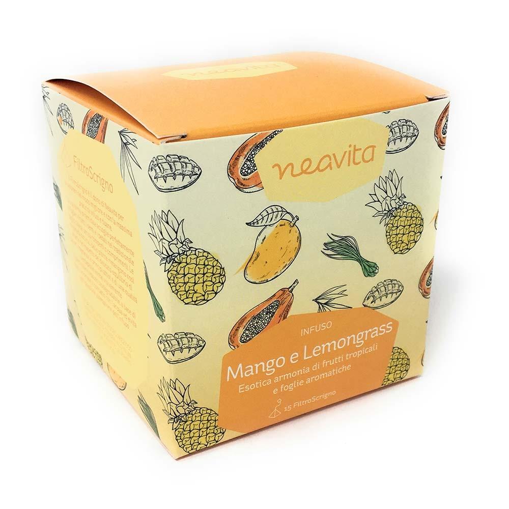 Neavita Mango E Lemongrass Infuso Di Frutti Tropicali, 15 Filtri