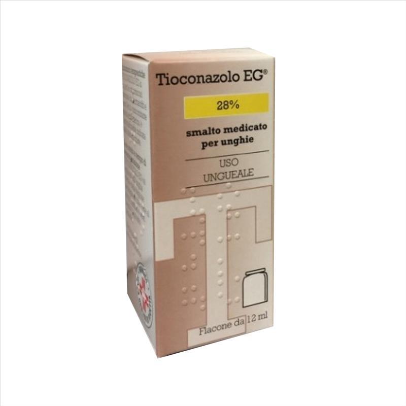 Tioconazolo Eg Smalto Med 12Ml