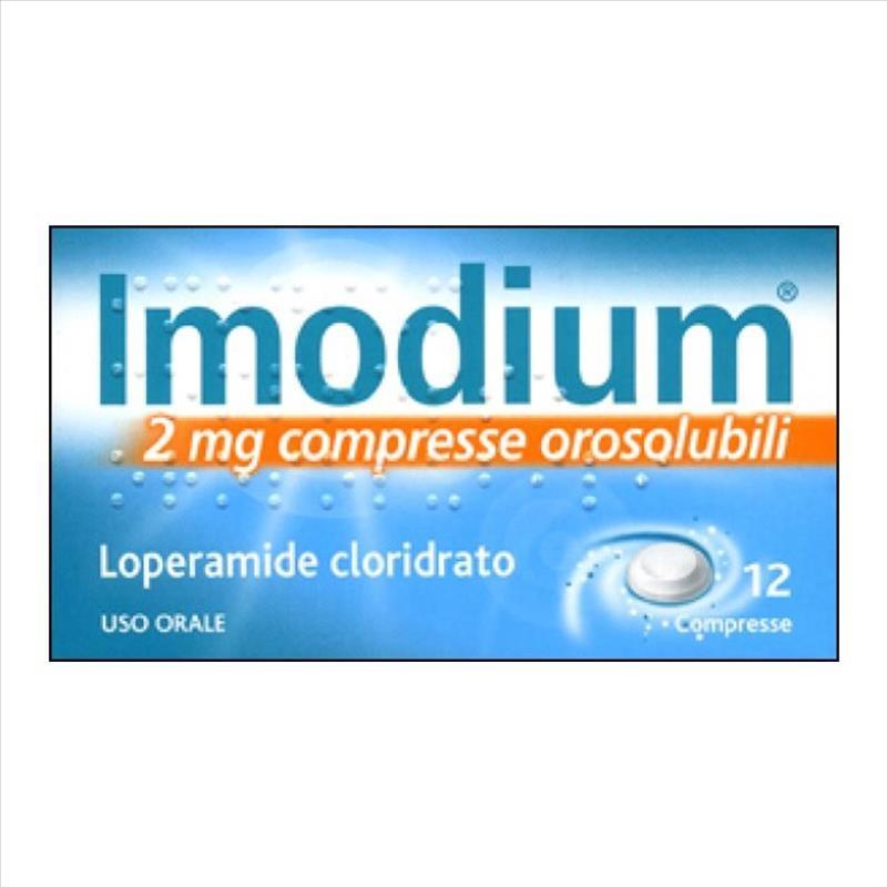 Imodium 12Cpr Orosol 2Mg offerta