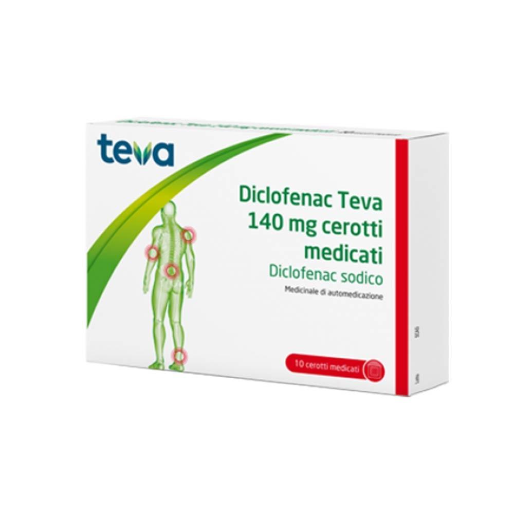 Diclofenac Te 10Cer Med 140Mg