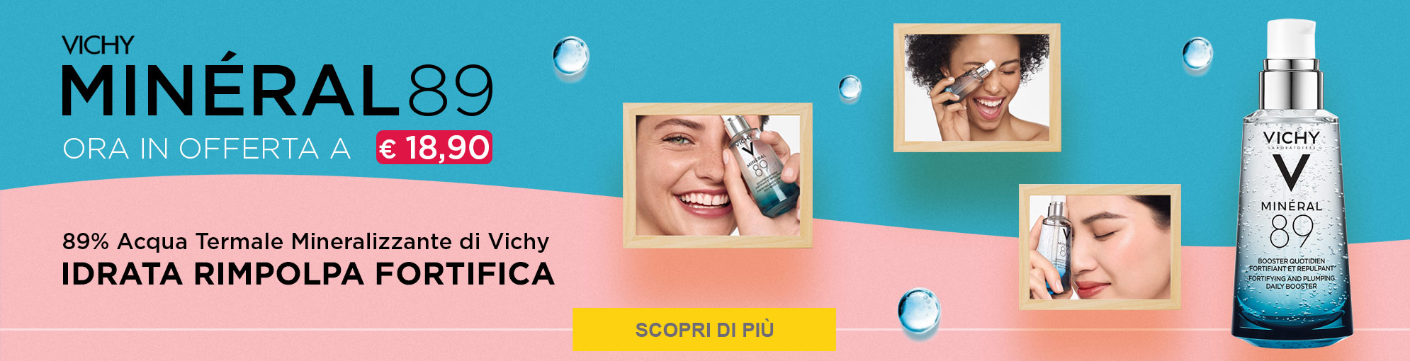 Vichy mineral in super offerta!