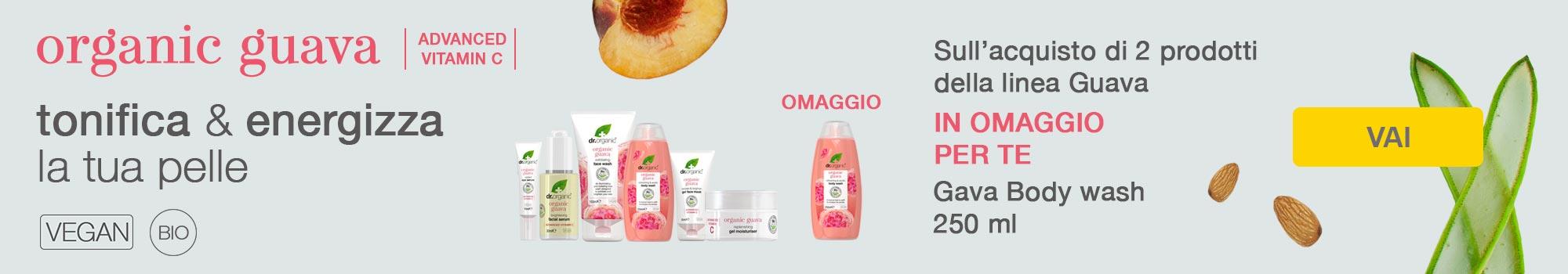 dr organic guava